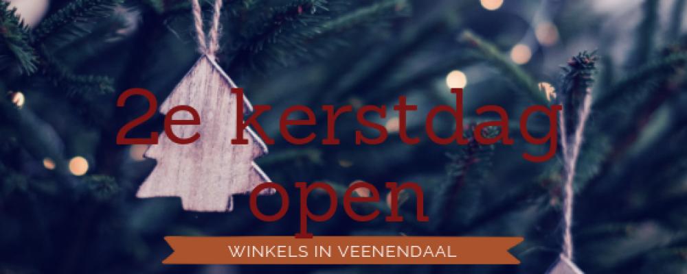 2e Kerstdag open in Veenendaal